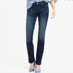 J. Crew Stretch Matchstick Jeans in Luella Wash